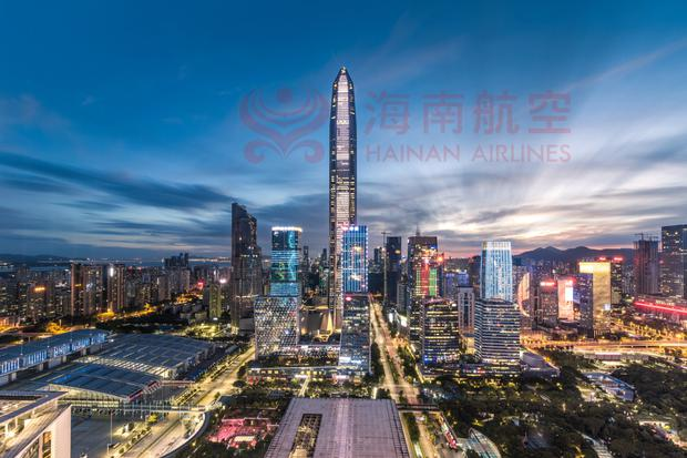 Metropolis: The sprawling city of Shenzhen is a link between Hong Kong and the Chinese mainland. Photo: Getty Images/iStockphoto