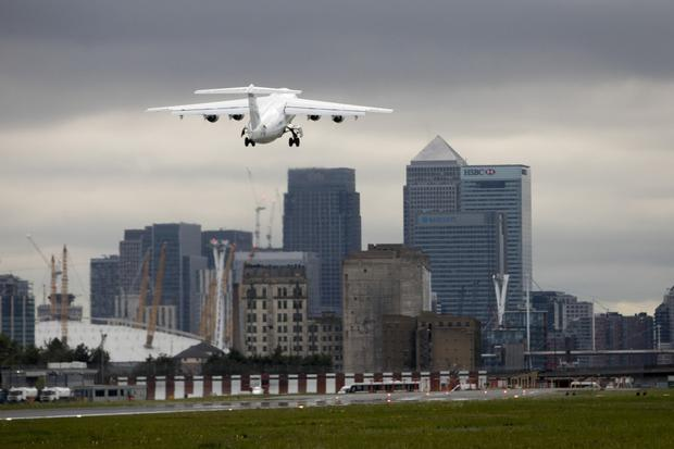 Taking flight: CityJet-backed Air Antwerp is set to begin flying to London City Airport. Photo: Bloomberg
