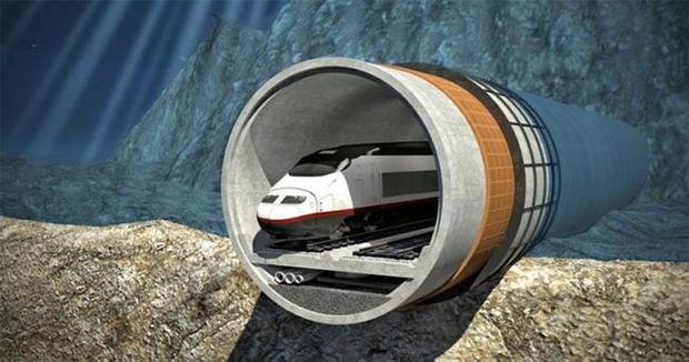 March. Bloomberg Concept: An artist's rendering of the proposed train tunnel from FinEst Bay Area