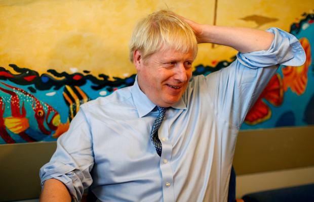 Mantra: UK prime minister Boris Johnson says he is prepared to leave the EU without a deal. Photo: PA