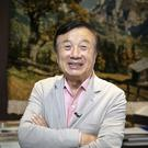 Defiant: Huawei founder Ren Zhengfei has urged staff to push the firm forward