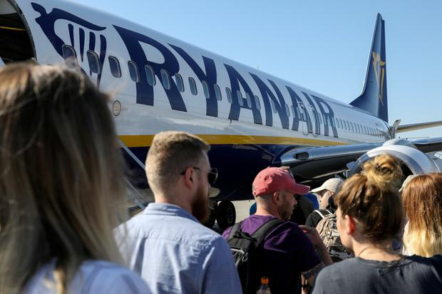 On course: Ryanair appears to have emerged unscathed from pilot strike action