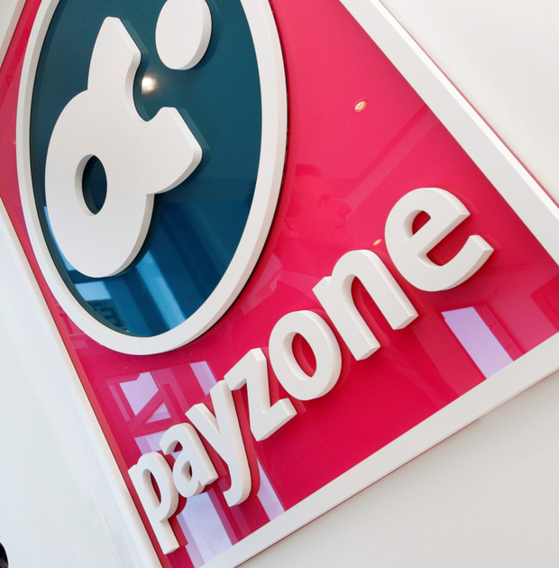 Payzone processes a variety of electronic transactions services