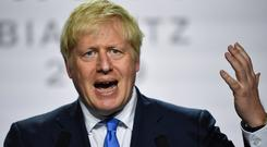 Boris Johnson's plan to suspend the UK parliament was approved by the queen. Photo: Reuters
