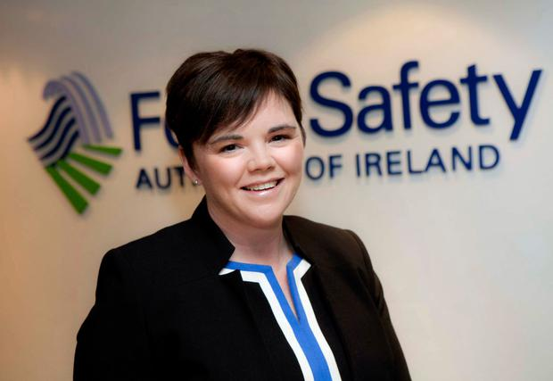 'I really love working for the public. I get a great sense of achievement from it': Dr Pamela Byrne, chief executive of the Food Safety Authority of Ireland, is keen to maintain high standards post-Brexit. Photo: Fennell Photography