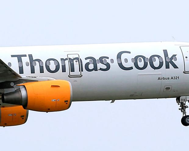 British travel operator Thomas Cook says it has agreed the main terms of a rescue package that will see Hong Kong's Fosun Tourism take over its tour operations, and creditor banks and bondholders acquire its airline. Photo: PA