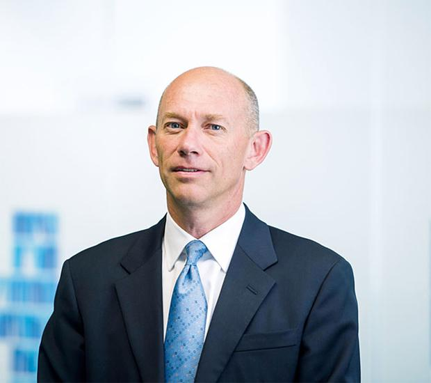 Positive: Hays CEO Alistair Cox said the UK achieved a solid result