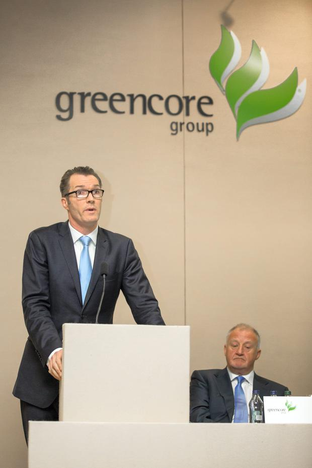 Greencore's Patrick Coveney