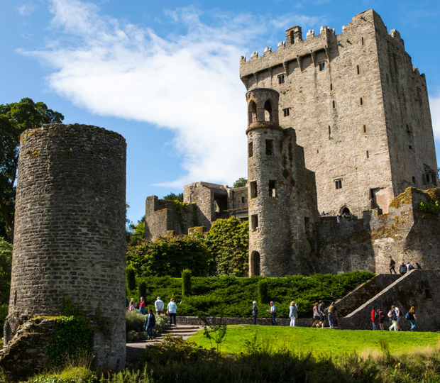 Blarney Castle is in the top 10 of Irish fee-paying attractions