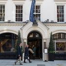 Sotheby's in London, where estimates are down for auctions in October. Photo: Bloomberg