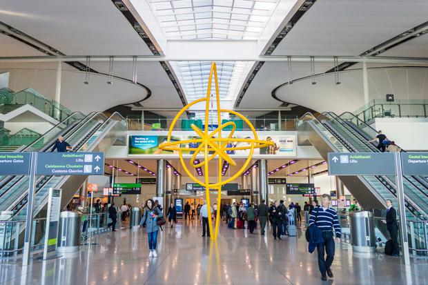 Busy: Dublin Airport wants to excuse transfer passengers from its traffic tally