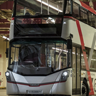 Rocky road: Wrightbus has faced growing financial difficulties due to a downturn in markets