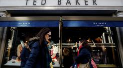 Ted Baker has slumped to a £23m (€25.8m) loss in the six months to August 11