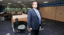 Liberty Insurance CEO Tom McIlduff hailed the company's local expertise. Photo: Collins Dublin, Gareth Chaney