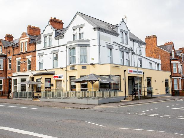 New owner: The Parador Lodge on Ormeau Road in Belfast
