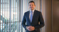 Pieter Elbers, chief executive of KLM, does not believe in simple solutions. Photo: Bloomberg