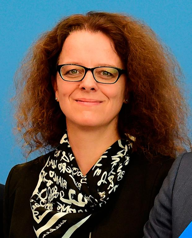 Germany's nominee to the board of the European Central Bank Isabel Schnabel. Photo: AFP/Getty