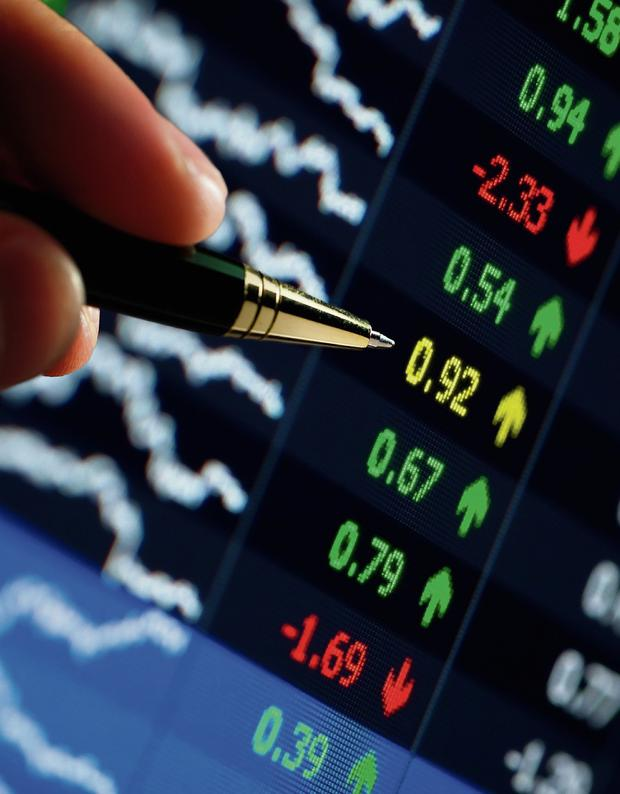 European shares took a breather yesterday after closing at a four-year peak in the previous session, as a mixed bag of earnings reports and weak services sector data from the euro area weighed on sentiment. (stock picture)