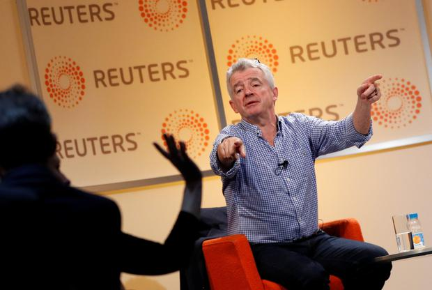 Dispute: Ryanair and CEO Michael O'Leary are contesting a legal case in New York
