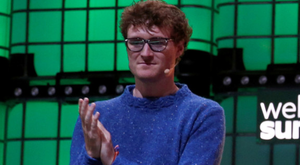 Web Summit founder Paddy Cosgrave at the 2019 conference in Lisbon. Photo: Reuters