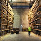 Inside a Pernod-Ricard distillery. Photo: Bloomberg
