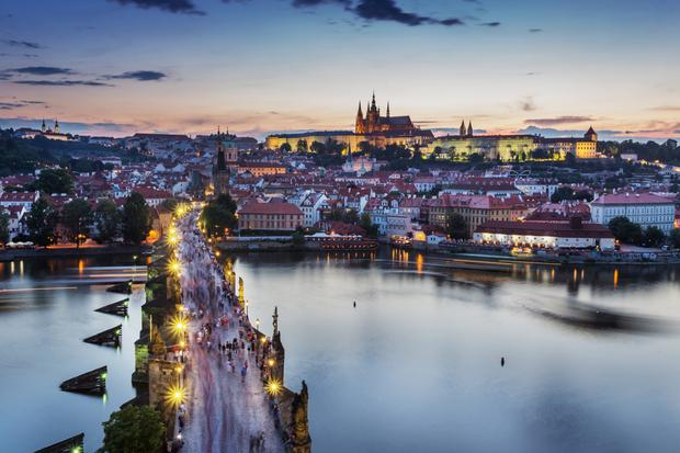 In demand: Prague's property conundrum has been exacerbated by the city's tourism industry