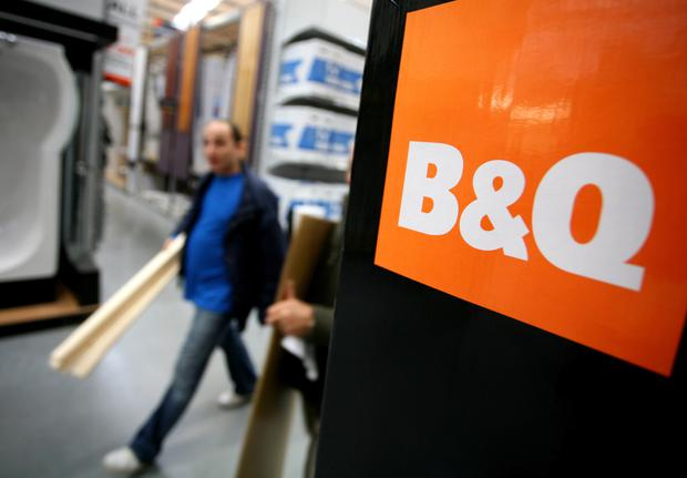 B&Q is among the tenants in the retail park