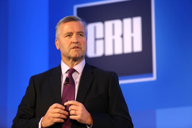 CRH chief executive Albert Manifold