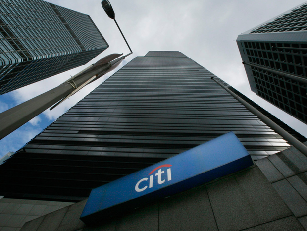 The UK arm of US banking giant Citigroup has been hit with a record £44m (€51m) fine
