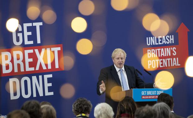Poll boost: YouGov says Boris Johnson's party is in course for biggest mandate since 1980s