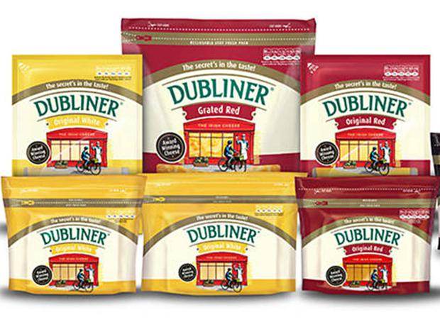 Dairy: Carbery makes the popular Dubliner cheese