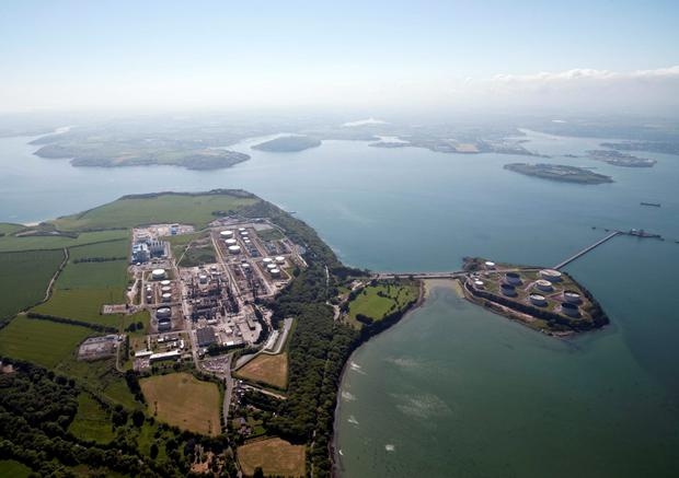 Refinery: The Whitegate facility in Cork harbour