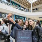 Customers at the opening of a Primark store in Milan, Italy. The chain is to continue its European expansion with a new store planned for Bratislava. Photo: Alessia Pierdomenico/Bloomberg