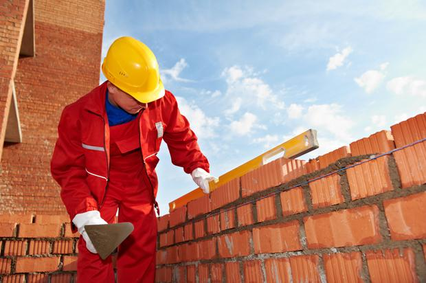 The best way to begin the process of selecting bricks for your new extension would be to investigate the old brickwork on the back of the house. Stock photo
