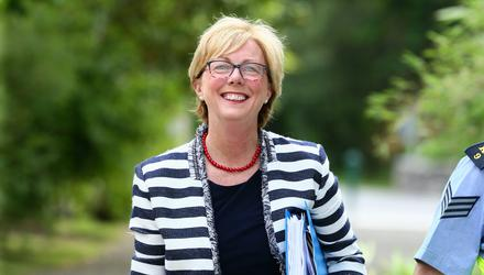 Social Protection Minister Regina Doherty is seeking to deliver an automatic enrolment programme in Ireland, following a similar move made by the British government seven years ago. Photo: Frank McGrath