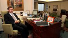 Michael Smurfit in his office high above central Monaco. Photo: Susan Williams