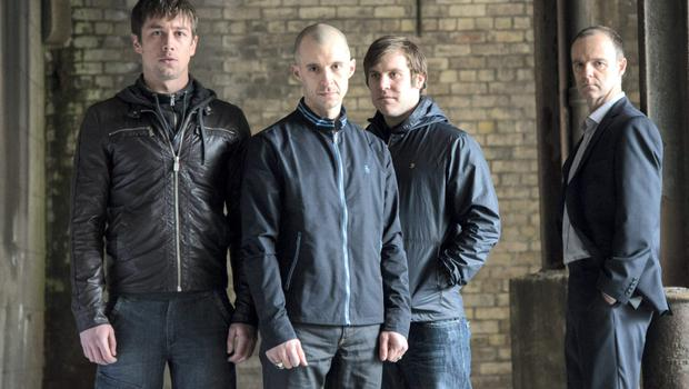 Some of the stars of RTE's hit TV show 'Love/Hate'