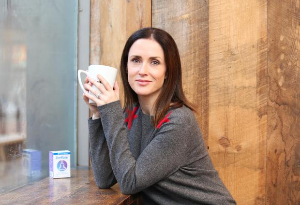 Clean-up: TV presenter and writer Maia Dunphy launching the Zenflore-backed digital detox campaign Photo: Leon Farrell / Photocall Ireland