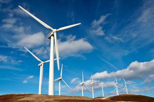 Power: Wind generation exceeded natural gas as the primary energy source for electricity in the first three months of the year.