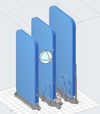 New design: Purportedly leaked CAD drawings and images hint at a new shape for the iPhone 12. Images: everythingapplepro