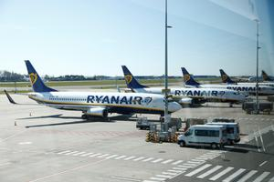 Cancellations: Ryanair is among the carriers grounding flights in light of the coronavirus. Photo: Reuters
