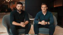 Rescue: Liam Harrington of Iconic Labs (L) and Greencastle Capital's Paul O'Donohoe announced plans for Joe.ie and Her.ie