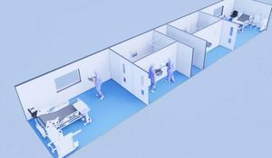 Capacity: MediPods can be used to expand existing hospitals
