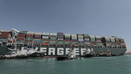 Costs associated with the Suez Canal blockage continue to rise.