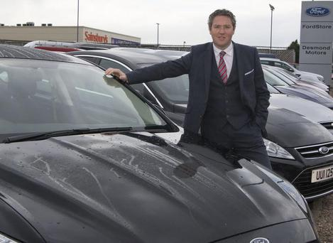 Garrett Mallon, the managing director of Desmond Motors