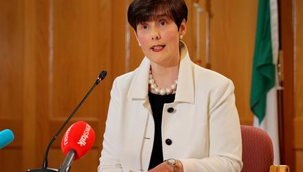 Education Minister Norma Foley