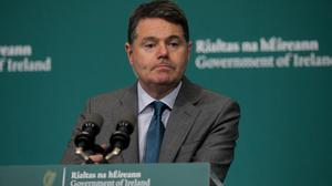 Finance Minister Paschal Donohoe.Picture by Gareth Chaney/Collins