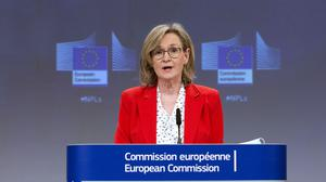 Transparency: Mairead McGuinness said the proposal in no way seeks to modify fiscal rules. Photo: Delmi Alvarez/European Commission/Bloomberg