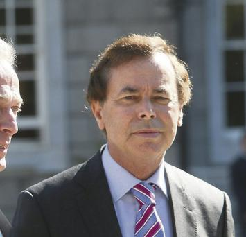 Alan Shatter: said gardai were making the country safer