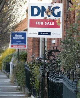 Rising property prices means it is getting more difficult to afford a mortgage in the capital.